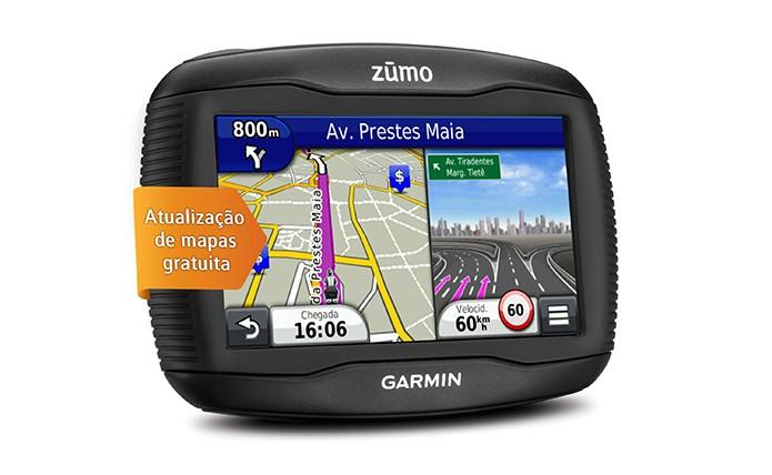 GPS projetado especialmente para motociclistas
